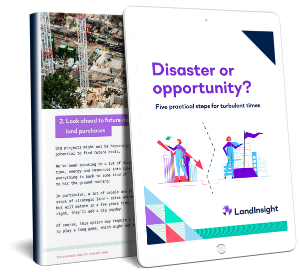 disaster or opportunity  - LP mg